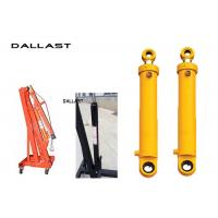 Best Chromed Hydraulic Hoist Cylinder ertical Mast Lifts Stroke 800 mm wholesale