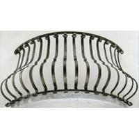 Quality Stair spindle Aluminum bending baluster railing wholesale