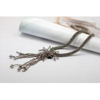Best sewing beads fringe necklace Jewelry Necklace, Long Handcrafted Necklaces (NL-987) wholesale