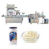 Best Four heads Filling Machine , Sauce filling Machine For Glass Bottle wholesale