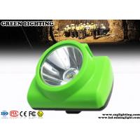 Best Wireless Cree Coal Mining Lights 3.7V Rechargeable Battery 13000 Lux Wide Beam wholesale