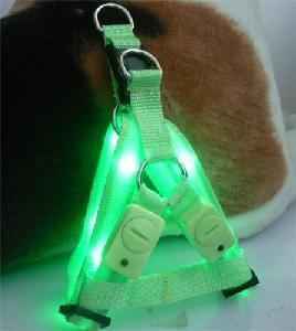 Best LED Flashing Pet Harness (Green) wholesale