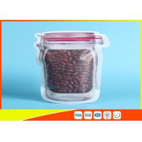 Buy cheap Matte Surface Daily Use 500 ml Snack Storage Zipper Mason Jar Bag from wholesalers
