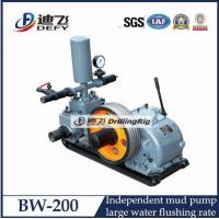 Best BW-200 Large Water Flushing Rate Drill Rig Mud Pump wholesale