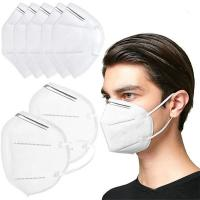 Best High Breathability KN95 5 Ply Face Mask Disposable Non Woven Face Mask wholesale