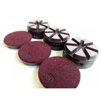 Best Ceramic Bond Transitional Dry Concrete Polishing Pads Diameter 3 Inch wholesale