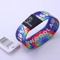 Best Nfc Elastic Stretch RFID Chip Wristband LF / HF Waterproof For Access Control wholesale