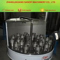 China Semi-automatic Bottle Washing Machine Brushing Cleaner on sale