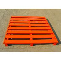 Best Durable Warehouse Stackable Steel Pallets Cold Rolled Steel Q235b Material wholesale