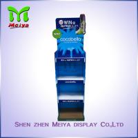 China Eco Duribility Custom Cardboard Display Stands / Floor Cardboard Display Unit on sale
