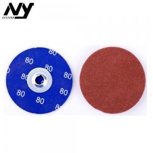 "Best 3m 2"" Quick Change Abrasive Discs , Round 120 Grit Roll Lock Type R Quick Change Disc wholesale"