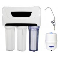 China 3.0 / 4G Plastic Tank Reverse Osmosis Water Filtration System Whole House 110V Pump on sale
