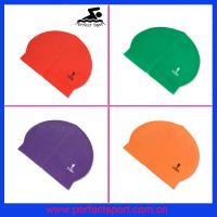 Cheap latex swim caps for sale