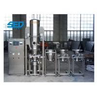 Best Stainless Steel Pharmaceutical Dryers / Fluid Bed Dryer Granulator For Powder Materials wholesale