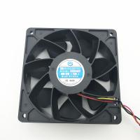 China 4 Wire Brushless Equipment Cooling Fans Cabinet Cooling Fan Ball / Hydraulic Bearing on sale