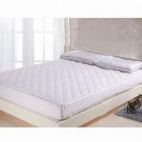 Best Cotton mattress pad, customized designs are accepted wholesale