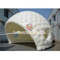 Best Flexible White Outdoor Inflatable Tent With Golf Shape Constantly Blowing wholesale