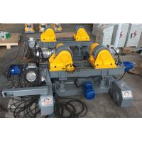 Buy cheap 3T Welding Rotator Light Pole Welding Machine Motorized Elevation Lead Screw Adjusting from wholesalers