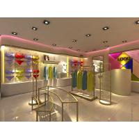 Best Metal Retail Garment Shop Fittings Modern Style Customized With Promotion Shelf wholesale