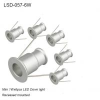 Best 6W set recessed mounted interior LED spot light for showroom wholesale