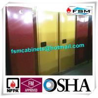 Quality 60 GAL Industrial Safety Cabinets , Safety Storage Cabinets For Flammable Liquids wholesale