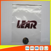 Best PVC Poly Plastic Packing Ziplock Bags Waterproof  Resealable With Zipper wholesale