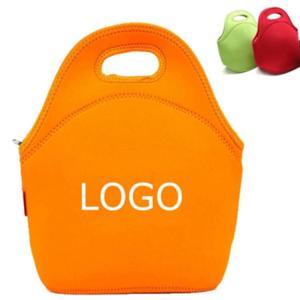 China Custom Eco-friendly neoprene insulated kids lunch bag.Size:30cm*30cm*16cm on sale