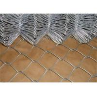 Cheap Green Flat Wire Mesh , 2x2 Chain Link Fence Mesh For Building Material for sale