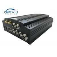 Best 720p G-Sensor GPS GSM 3G WIFI 4G HDD Mobile DVR 4ch MDVR With Camera Monitor CMS wholesale