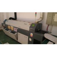 China Medium size 6 heating zones smt reflow oven for pcb reflow soldering on sale