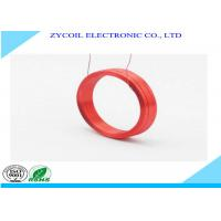 Best Copper Wire Air Core Inductor Coil , Toroidal Red Custom Coil Winding wholesale