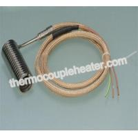 Quality 2.2x4.2mm nozzle spiral coil heater for hot runner systerm with metal mesh lead wire wholesale