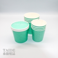 China Custom 18 PE 32oz Disposable Soup Eco Friendly Paper Cups on sale