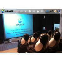 Cheap 18 Persons 5D Movie Theater With Special Effect System 3DOF Pneumatic Motion for sale