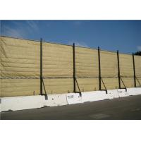 Best Temporary Acoustic Barriers Cut Edge for for 6' x 12' chain link fence panels wholesale