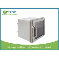 Best Lab 304 Stainless Steel Pass Box GMP Standard For Pharmaceutical Clean Room wholesale
