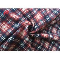 Best Microfiber Printed Polyester Tricot Knit Fabric Imitated Cotton Velvet For Upholstery wholesale