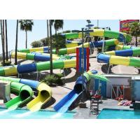 Best Huge Fiberglass Water Slide Adults Swimming Pools Extreme Games Slide wholesale