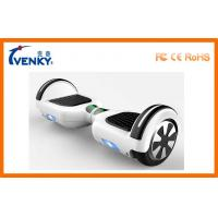 Fast Motorized Scooter Board 2 Wheeled Self Balancing Electric Vehicle with LED light