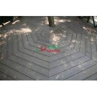 Best No Maintain WPC Garden Decking Longlifespan Moisture Resistance 140 * 32mm wholesale