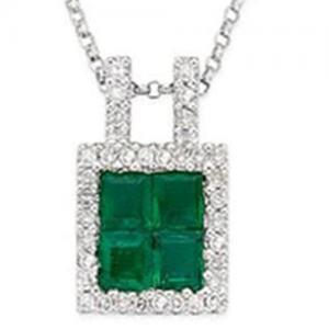 Best Emerald & Diamond Pendant wholesale