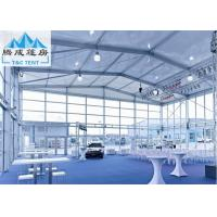 Best Aluminum Frame Double Decker Outdoor Party Tent Structure With Glass And ABS Wall wholesale