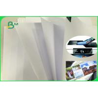 China Long Grain Wood Free Uncoated Offset Printing Paper With High Whiteness FSC on sale