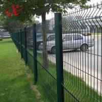 Best 200*55mm Green Pvc Coated Welded Wire Mesh Fence Panel High Anti - Corrosion wholesale