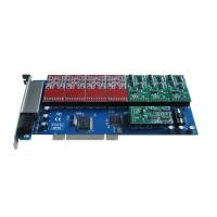 Cheap TDM1200P 12 Port fxs/fxo Voip Asterisk PCI Card for sale