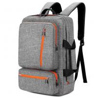 Best 17 Inch Laptop Tote Bag Grey Color , Travel Laptop Backpack Computer Bag wholesale