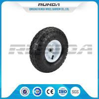 Best Comb Pattern 10 Inch Pneumatic Wheels Large Friction Against Tire Skidding wholesale