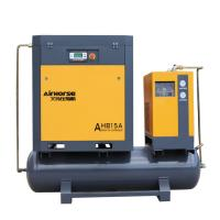 Best High pressure 1.6Mpa 15kw screw air compressor with dryer and tank for Industrical Laser Cutting wholesale