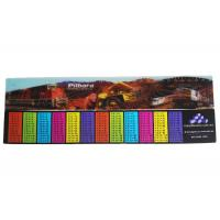 Custimized PET Material 3D Stationery Lenticular Ruler With LOGO Printing For School & Office Supplis