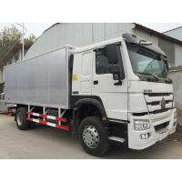 Best White Commercial Cargo Truck 16 Tons 15 CBM One Sleeper Cab High Roof wholesale